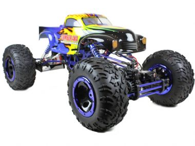 TOYANDMODELSTORE: Remote control car RC model off road rock crawler monster truck cars